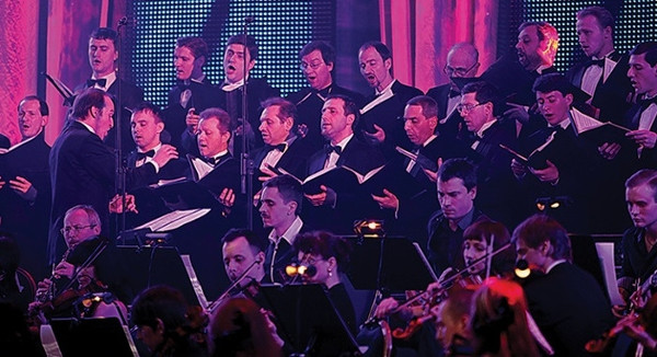 THE MOSCOW MALE JEWISH CAPPELLA - © Coverfoto, Chor,