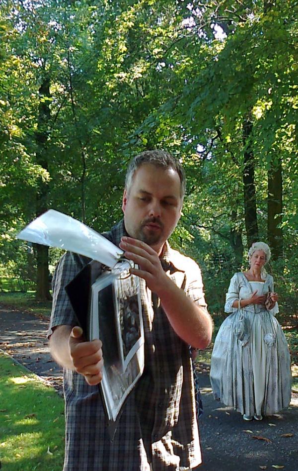 Führung im Schloßpark Schönhausen