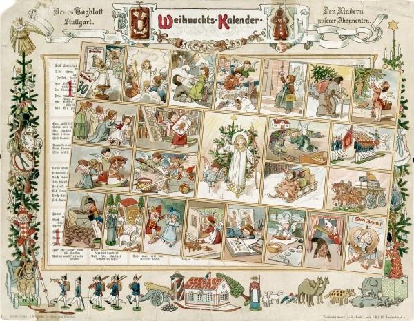 Gerhard Lang / Richard Ernst Kepler: Weihnachts-Kalender