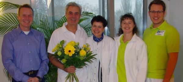 NAKO MRT-Team begrüßt Michael Cygan