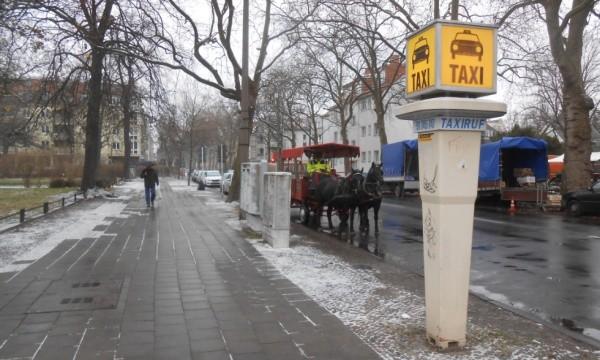 Pferde - Taxi zum Adventsfest in Wilhelmsruh
