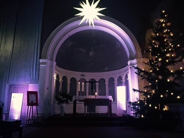 Weihnacht in der Rosenthaler Dorfkirche