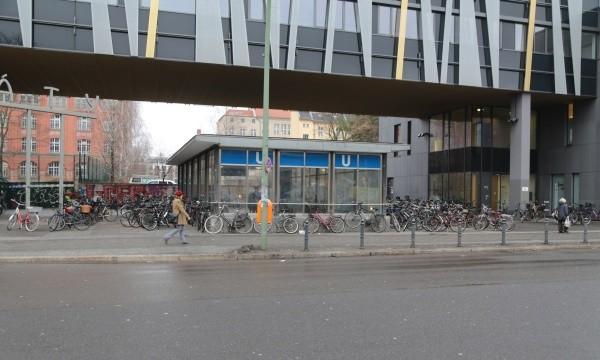 Fahrradparken auf dem Garbátyplatz