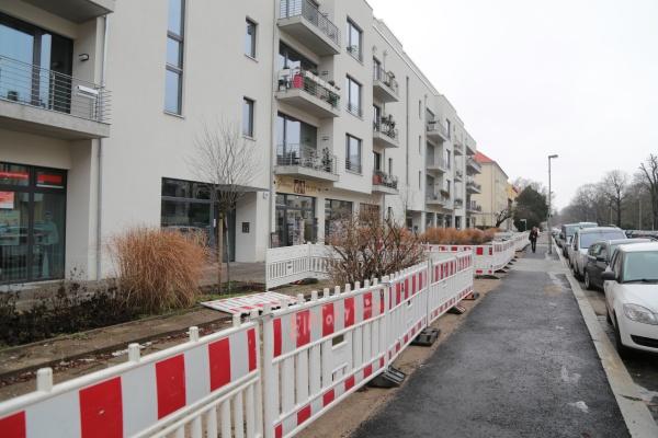 Bauzaun-Ausstellung Ossietzkystraße