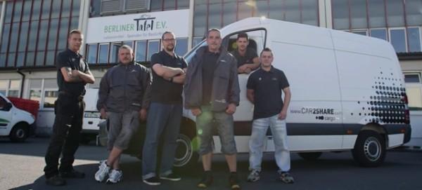 CAR2SHARE cargo & Die Berliner Tafel