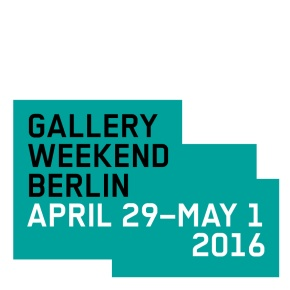GALLERY WEEKEND BERLIN 2016