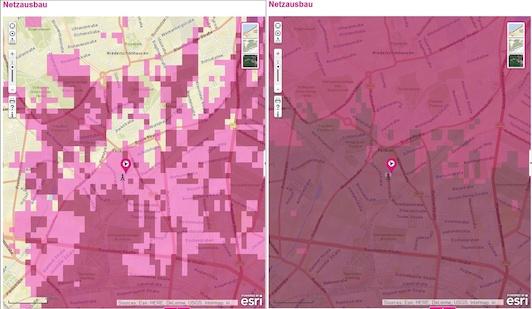Telekom Netzausbau