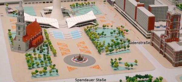 Berliner Mitte - Stadtmodell
