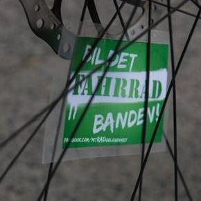 BILDET FAHRRAD BANDEN!