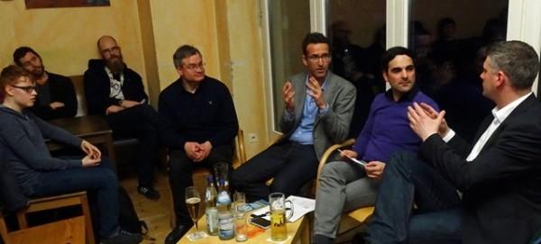 Berliner Pub Talk zum Volksentscheid Fahrrad am 29.März 2016