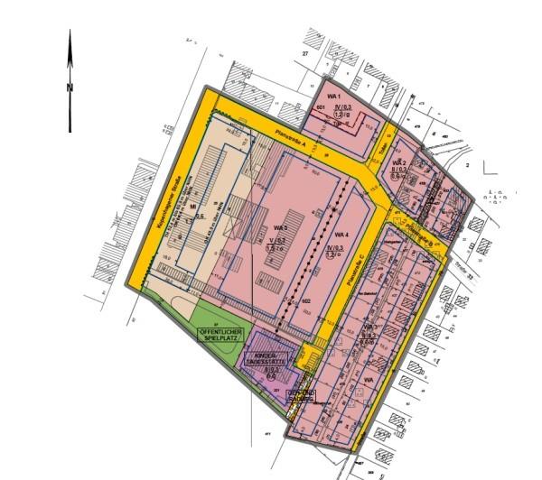 Entwurf: Bebauungsplan 3-18