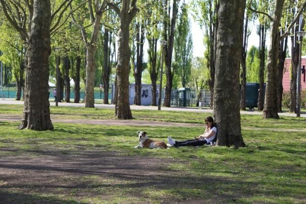 Entspannt im Jahn-Sportpark