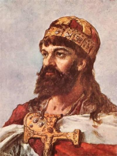 Piasten-Herzog Mieszkos I.