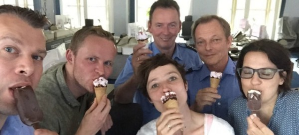 Polizei Berlin bei Twitter