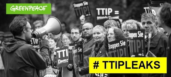 Greenpeace veröffentlicht TTIP Papiere