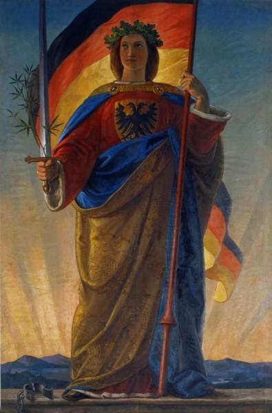 Germania - Gemälde von Philipp Veit