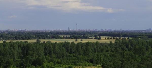 Hauptstadtblick vom Arkenberge