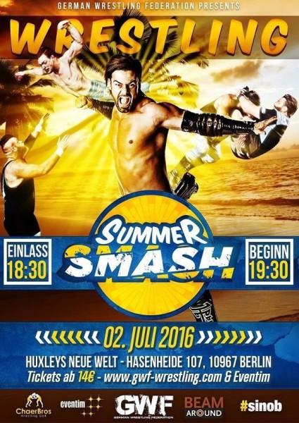 """""""Berlin Wrestling Night 36: Summer Smash"""""""