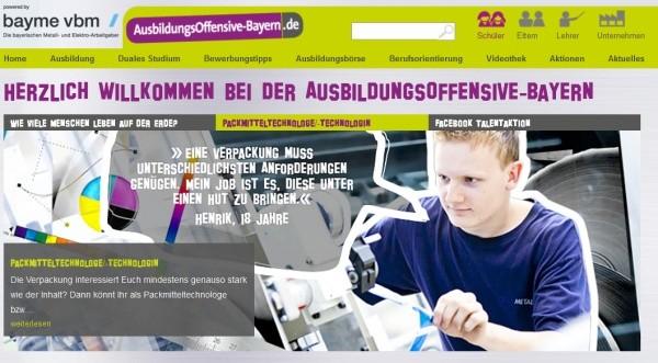 Ausbildungsoffensive Bayern