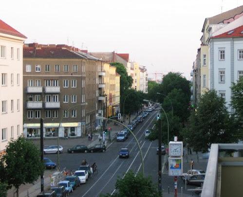 Kreuzung Kastanienallee / Schwedter Straße