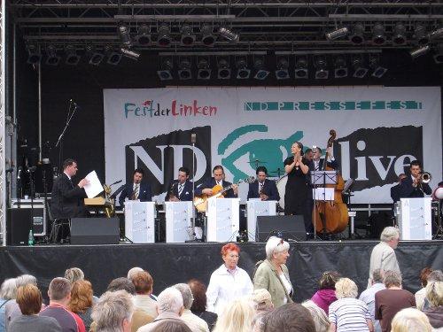 Andre Hermelin und das Swing Dance Orchester
