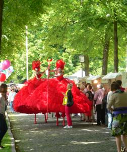 Dulce Compania im Schlosspark Schönhausen