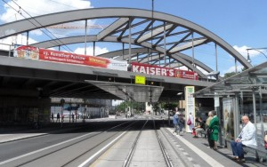 Bahnbruecke am Pankower Tor
