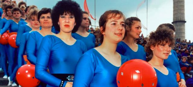 FDJ-Pfingsttreffen 1989 im Stadion der Weltjugend / Foto: Jens Rötzsch