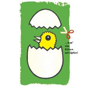 Das GELBE vom Ei ! Küken schlüpfen im Museum