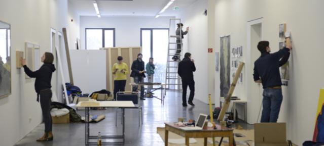 Kunststipendiaten an der Kunsthochschule Weißensee