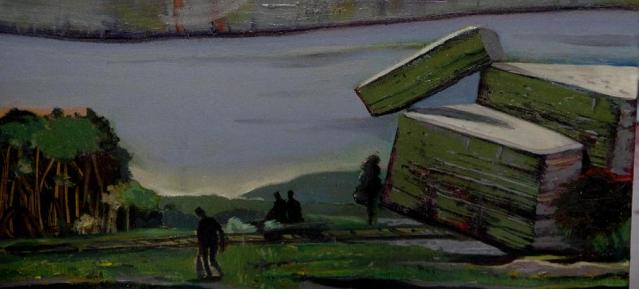 Igor Tatschke: Picknick am Wegesrand