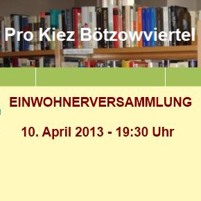 Pro Kiez Bötzowviertel e.V.