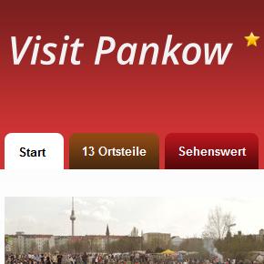 Visit Pankow - Tourismusportal für den Berliner Bezirk Pankow