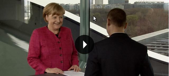 """Bundeskanzlerin Merkel : """"'#Neuland"""""""