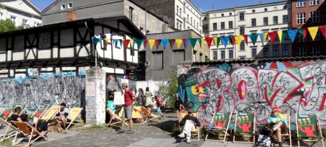 Makers Market in der FIT Templiner Straße / Schwedter Strasse