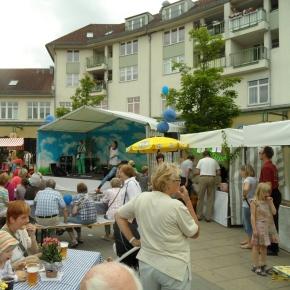 Stadtteilfest auf der Piazza in Karow am 15.6.2013