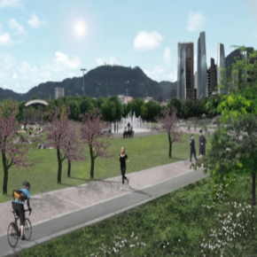 DOWNTOWN BOGOTA // MY IDEAL CITY Bottom Up Urbanism to design the City of the Future