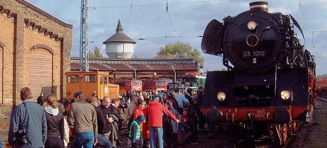 10. Eisenbahnfest im Eisenbahnbetriebswerk Schöneweide - 31.8. -1.9.2013