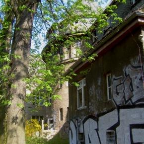 Ehemaliges Kinderkrankenhaus in der Hansastrasse in Weissensee