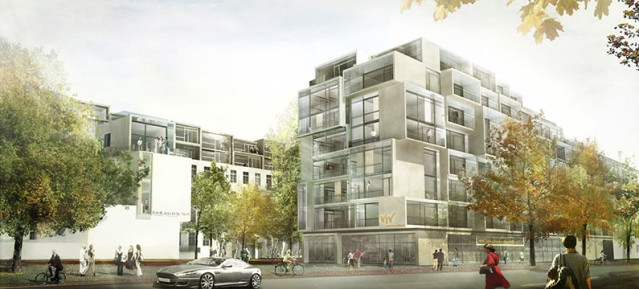 Paragon Appartments - Entwurf: Graft Architekten