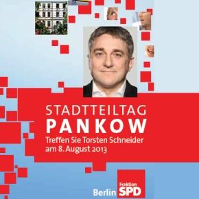 Stadtteiltag von Torsten Schneider in Pankow am 08. August 2013