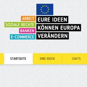 "Eure Ideen können Europa verändern - ""Monats des Binnenmarkts 2013"""