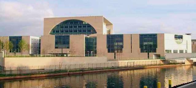 Bundeskanzleramt in Berlin