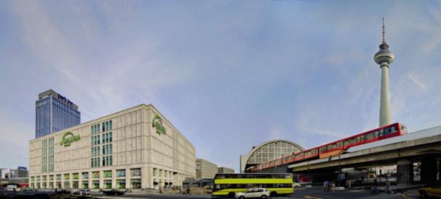Galeria Kaufhof am Alexanderplatz - Pressefoto