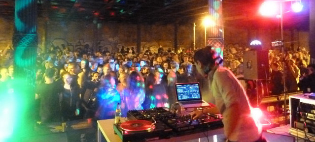 Gleimtunnelparty 2013 mit DJ Ipek, Pressefoto: © Wibke Bierwald