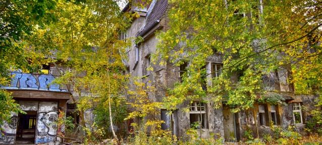 Ehemaliges Kinderkrankenhaus in der Hansastraße - Foto: Axel Hansmann