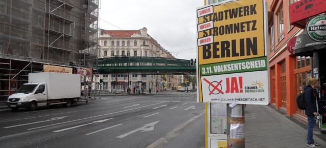 Volksentscheid am 3.November 2013 in Berlin