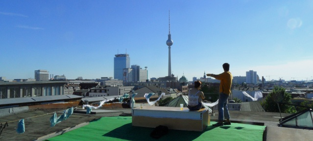 Dachblick zum Alexanderplatz