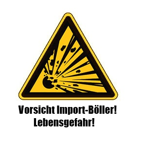 Vorsicht Import-Böller!