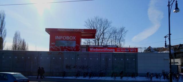 INFOBOX am Pankower Tor am 23.März 2013